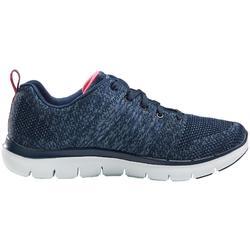 Damessneakers voor sportief wandelen Flex Appeal blauw