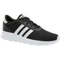 Herensneakers voor sportief wandelen Lite Racer zwart / wit