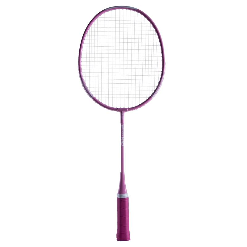 KID BADMINTON RACKET SET STARTER BLUE PINK