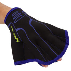 Neoprene Aquafitness Gloves - Black