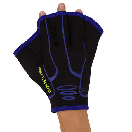 Neoprene Aquafitness Gloves - Black