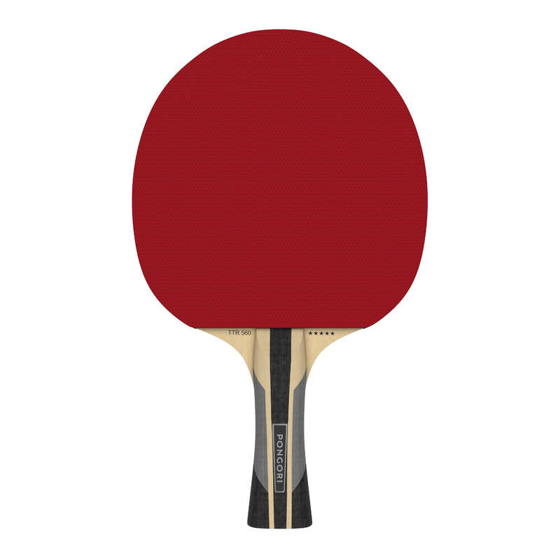 MASA TENİSİ RAKETLERİ -  ORTA SEVİYE Tenis - TTR 560 SPEED RAKET  PONGORI - Masa Tenisi