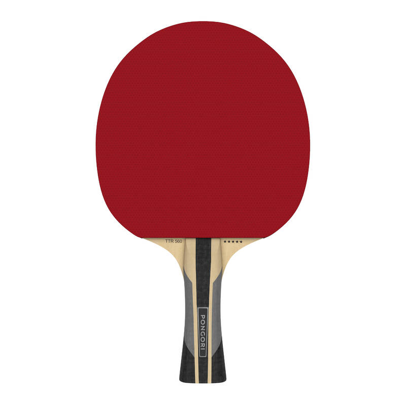 PÁLKY POKROČILÍ RAKETOVÉ SPORTY - PÁLKA TTR560 5* SPEED PONGORI - Stolní tenis, ping pong