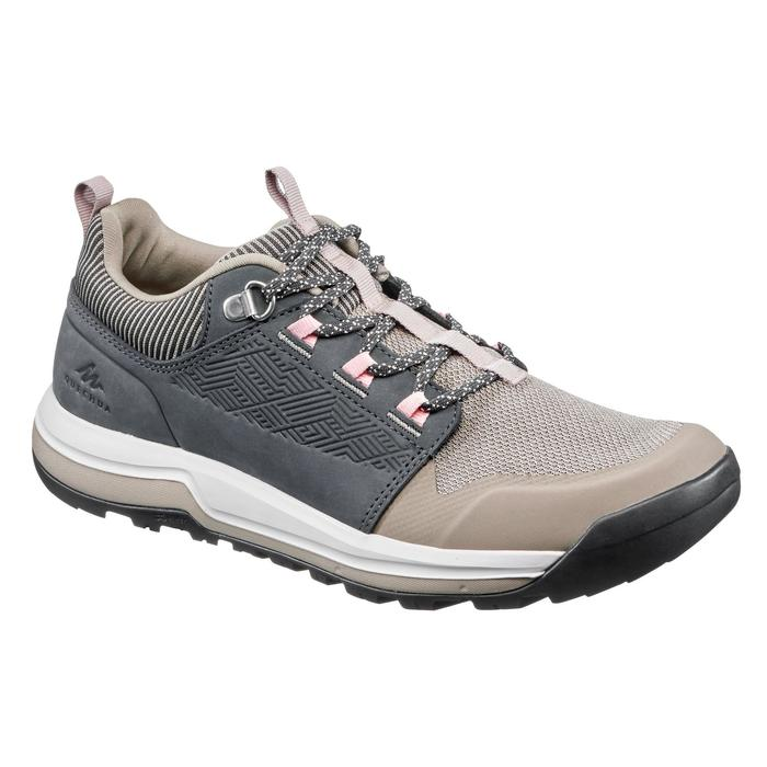 NH500 Women's Country Walking Boots - Beige Grey