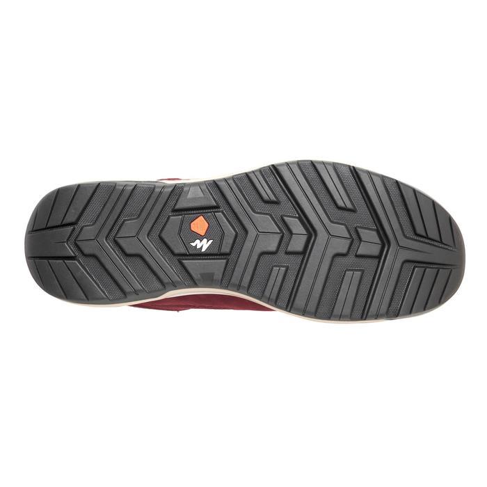 Zapatillas de MONTAÑA Y SENDERISMO NH500 burdeos mujer