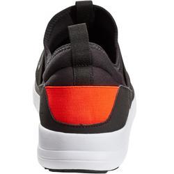 Chaussures marche sportive homme PW 160 Slip On noir / orange