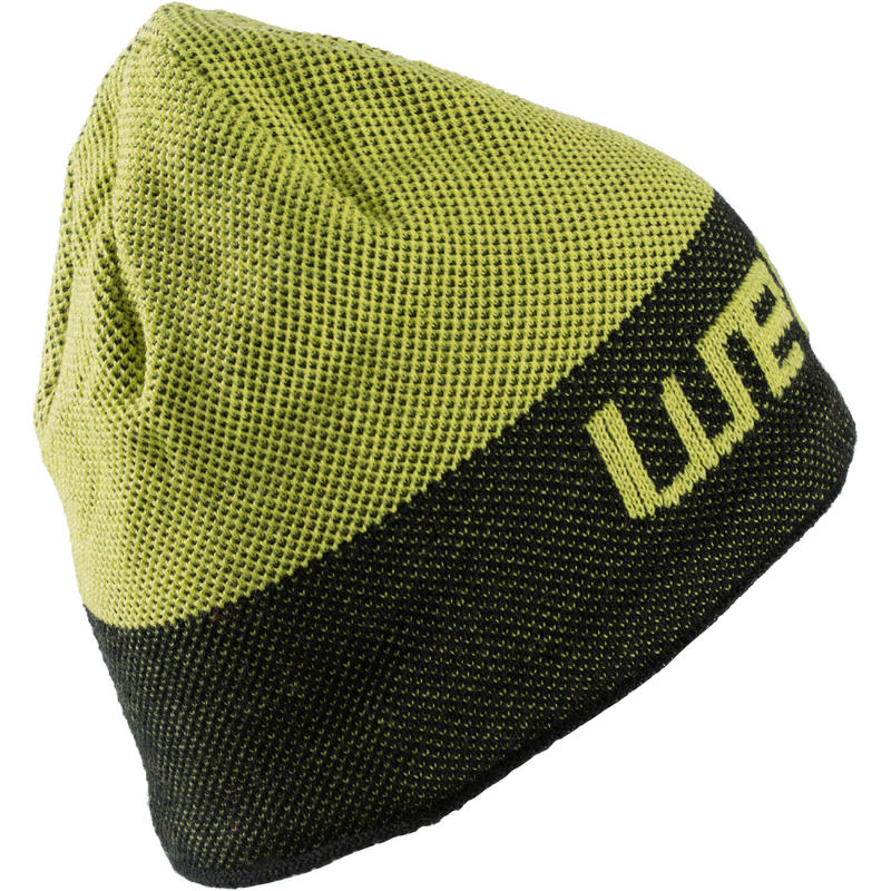 BONNET SKI ADULTE SPEED BRAND JAUNE NOIR WED'ZE