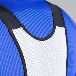 Fietskuitbroek met bretels voor heren racefietsen RC500 zwart