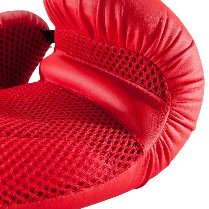 Beginner Boxing Gloves 100 - Red