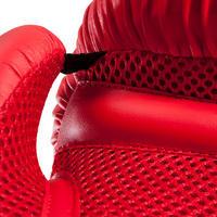 "Iesācēju boksa cimdi ""100"", sarkani"