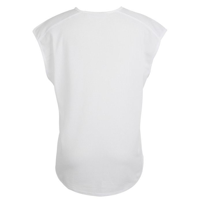 120 Women's Cardio Fitness T-Shirt - White Print