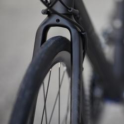 Rennrad Triban RC 500 FB Flachlenker (Scheibenbremsen) Schwarz