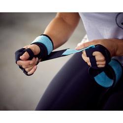 重訓綁帶式護腕-藍色