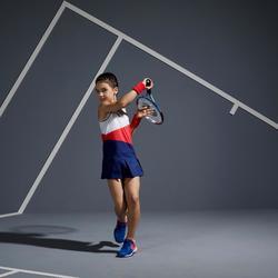 Tennis Dress 500 - White/Pink/Blue