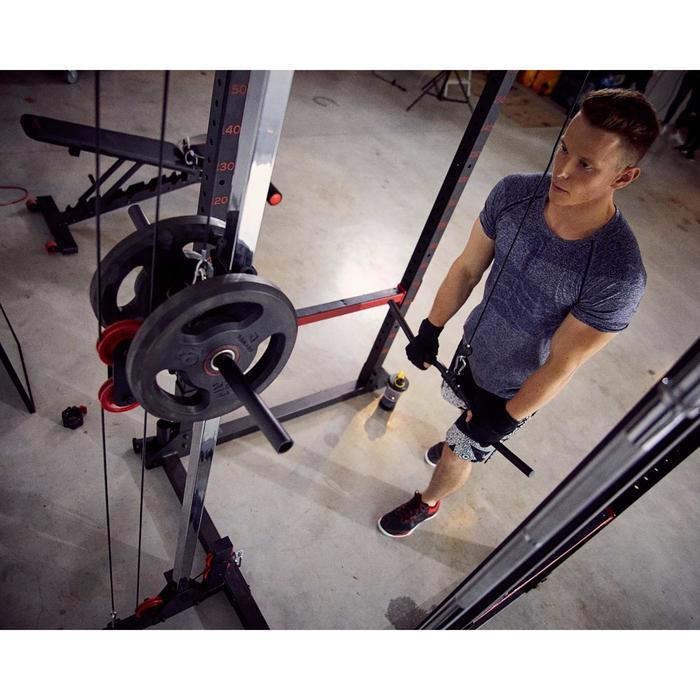 Squat rack voor krachttraining - trekoefeningen / squats / bankdrukken