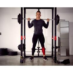 Rack Musculación Domyos 900 Tracción Sentadillas Espalda Jaula Entrenamiento
