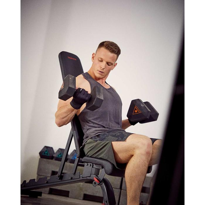 Verstevigde fitnessbank verstelbaar