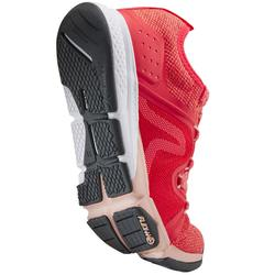 Chaussures marche sportive femme PW 540 corail