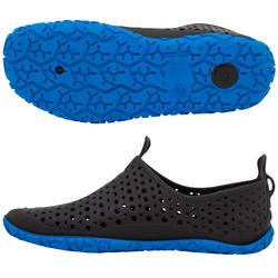 Chaussons de gymnastique, d'entraînement et de vélo aquatique Aquadots noir bleu