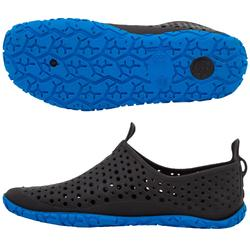 Escarpin Piscina Adulto Nabaiji Aquagym Aquabike Aquafitness Negro Azul
