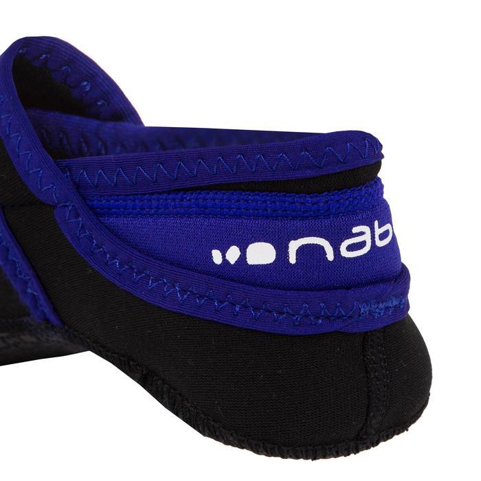 Schoentjes voor Aquagym,Aquabike en Aquafitness Aquaballerine zwart/blauw