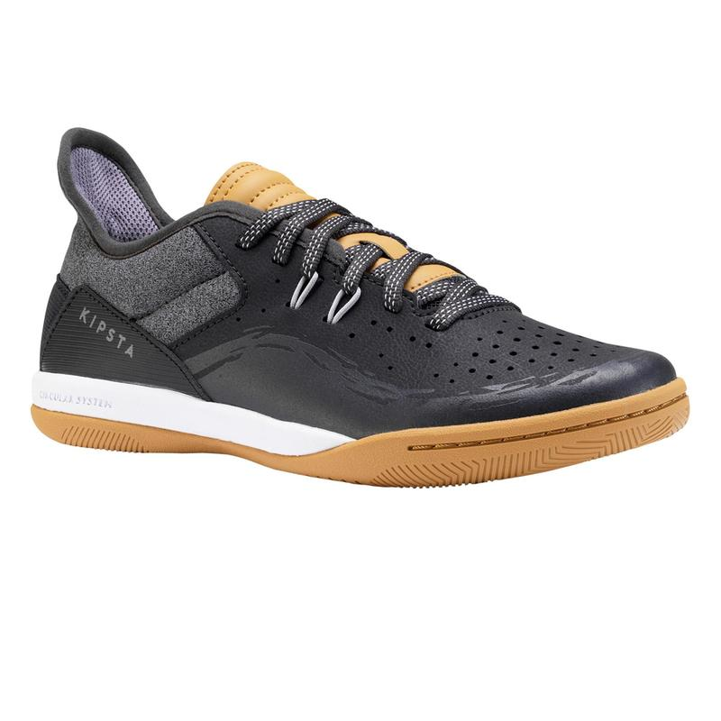 Çocuk Futsal Ayakkabısı / Salon Ayakkabısı - Gri - ESKUDO 500