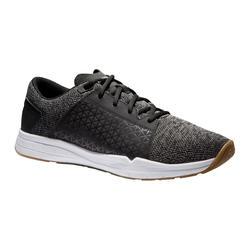 Men's Regular Training Shoes - Grey/Black