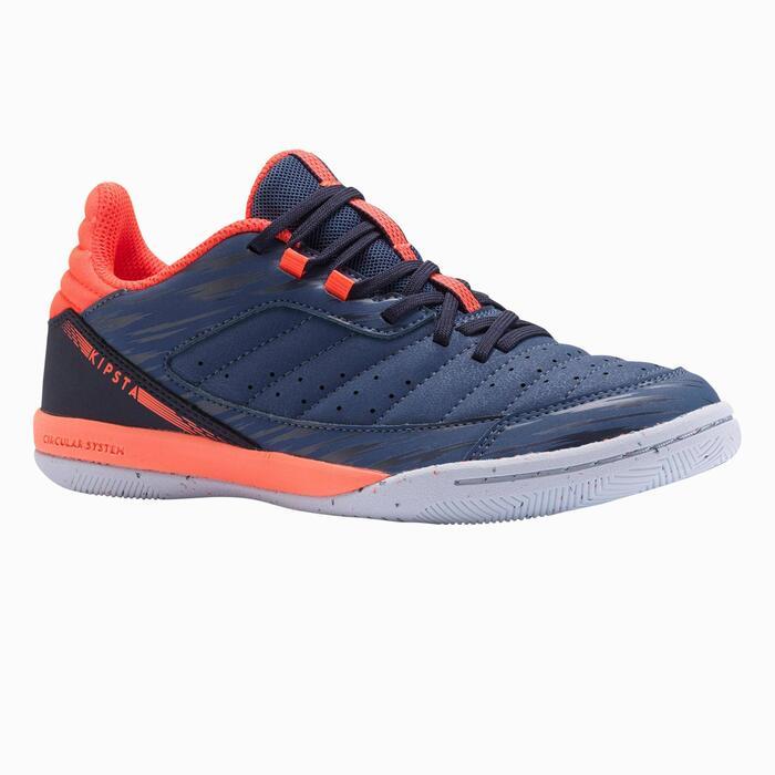 Zapatillas de fútbol sala ESKUDO 500 JR Dark blue