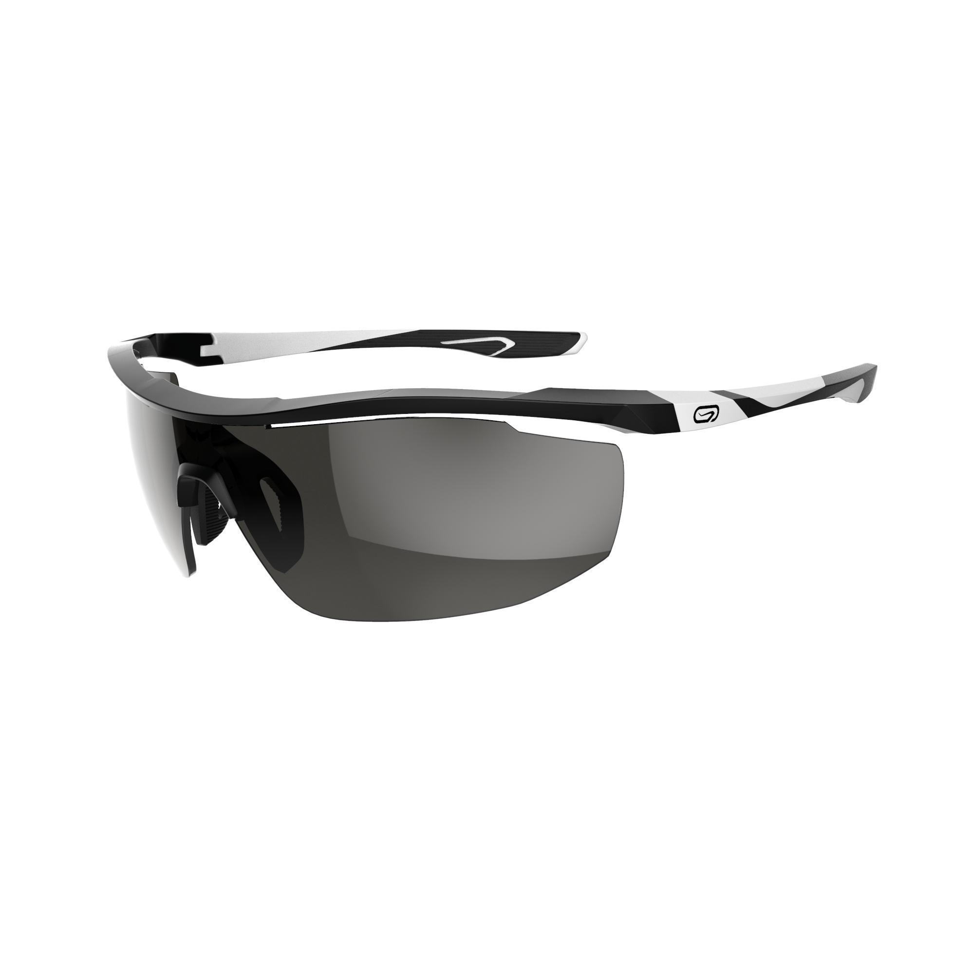 Sonnenbrille Laufen 500 Kat. 3 schwarz/weiß | Accessoires > Sonnenbrillen | Weiß | Polyamid | Kalenji