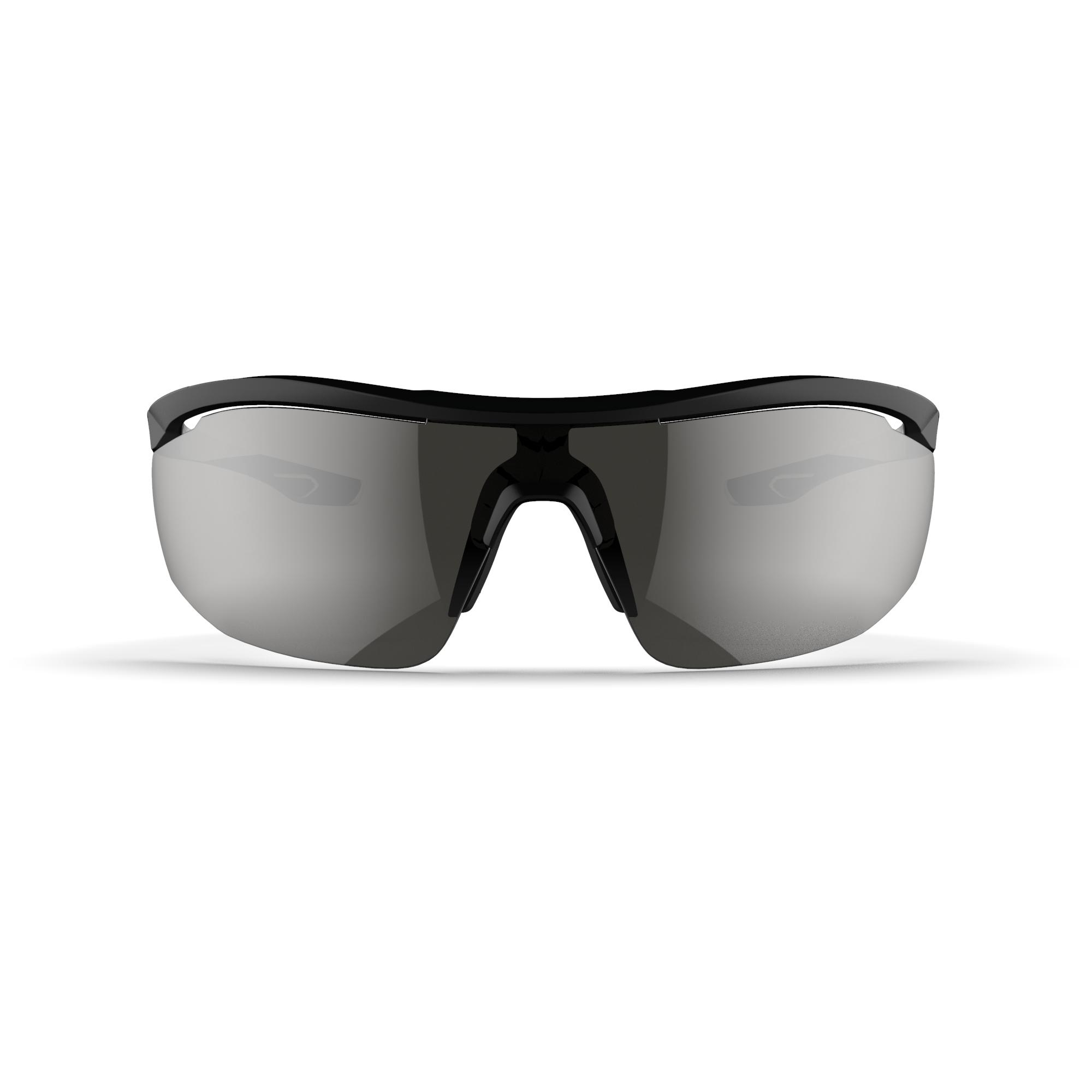 Runperf Category 3 Adult Running Glasses - Black/White - No Size By KALENJI | Decathlon