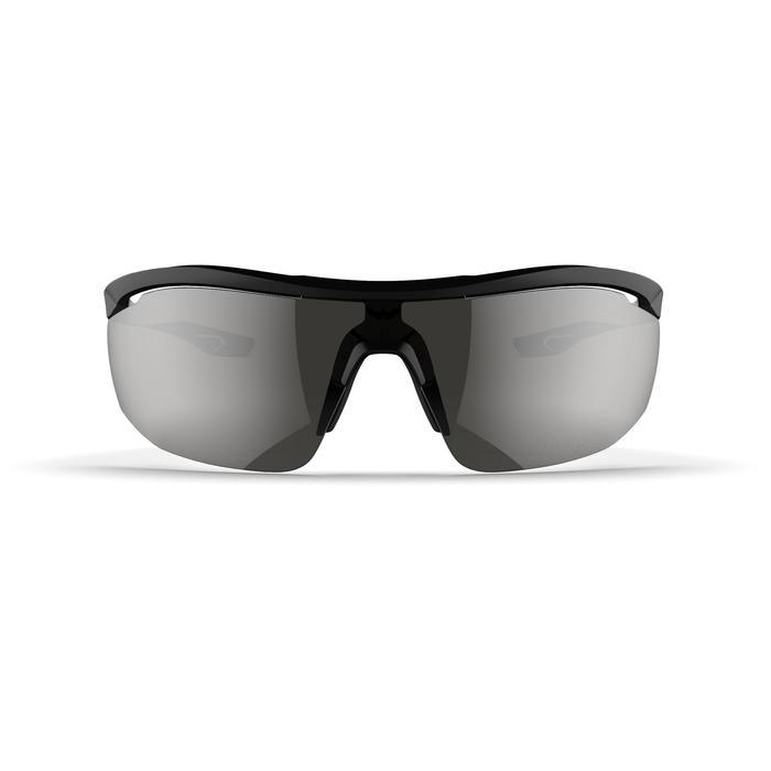 Sonnenbrille Laufsport Runperf C3 Kat.3 Erwachsene schwarz/weiß