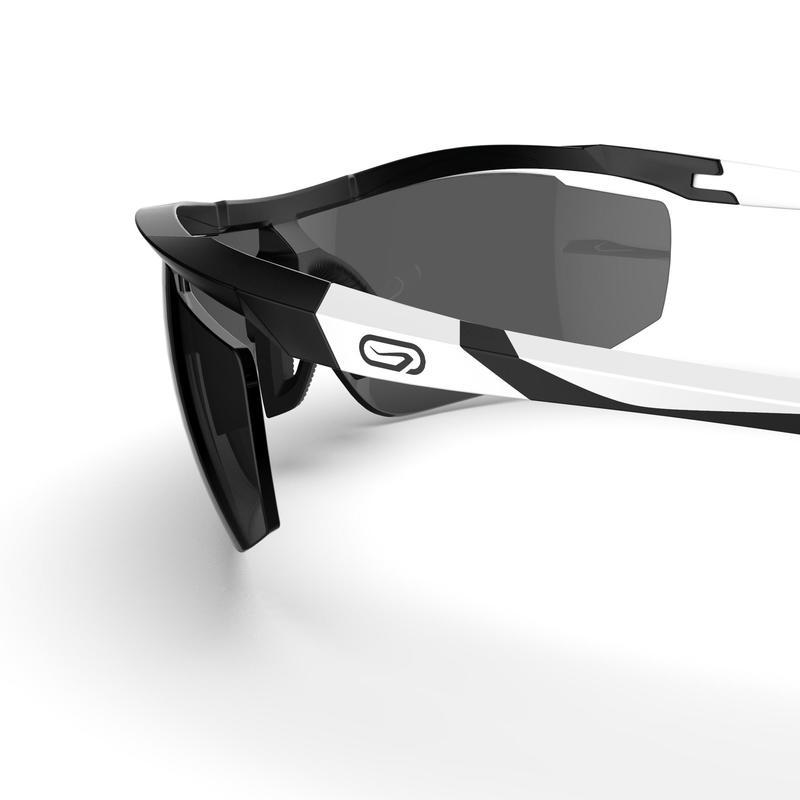 RUNPERF C3 CATEGORY 3 ADULT RUNNING GLASSES - BLACK/WHITE