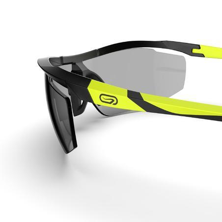 """1–3 kat. fotochrominiai bėgimo akiniai suaugusiesiems """"Runperf"""", juodi / geltoni"""