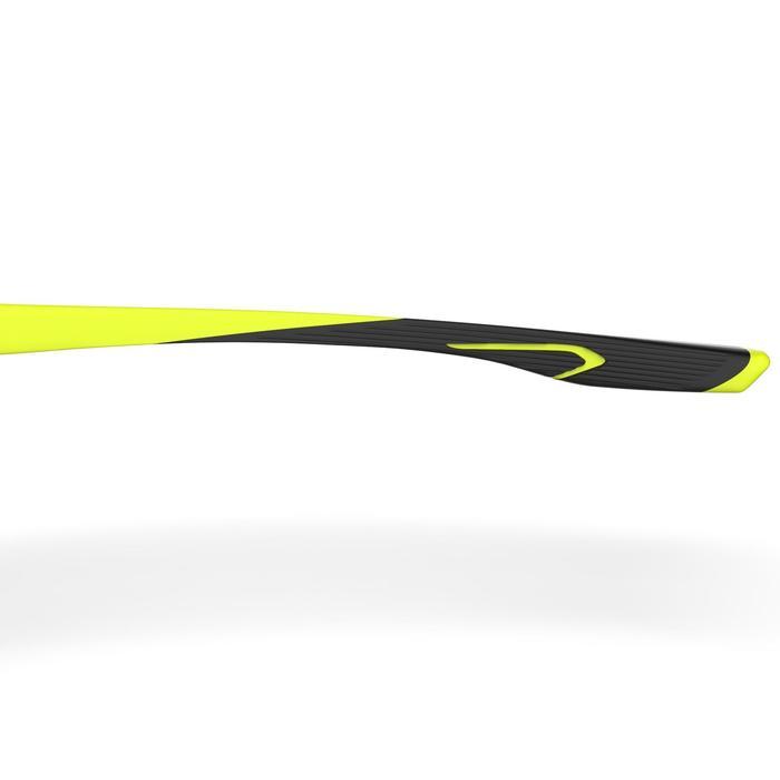 Lunettes de running adulte RSG 560 noir jaune fluo photochromiques cat 1 à 3