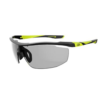 TRAIL 560 adult's running glasses photochromic Cat 1 to 3 black fluo yellow