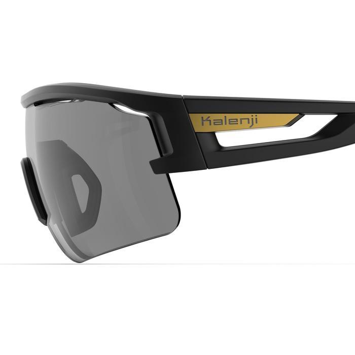 TRSG 960 ADULT'S RUNNING GLASSES PHOTOCHROMATIC CAT. 1-3 - BLACK/BRONZE