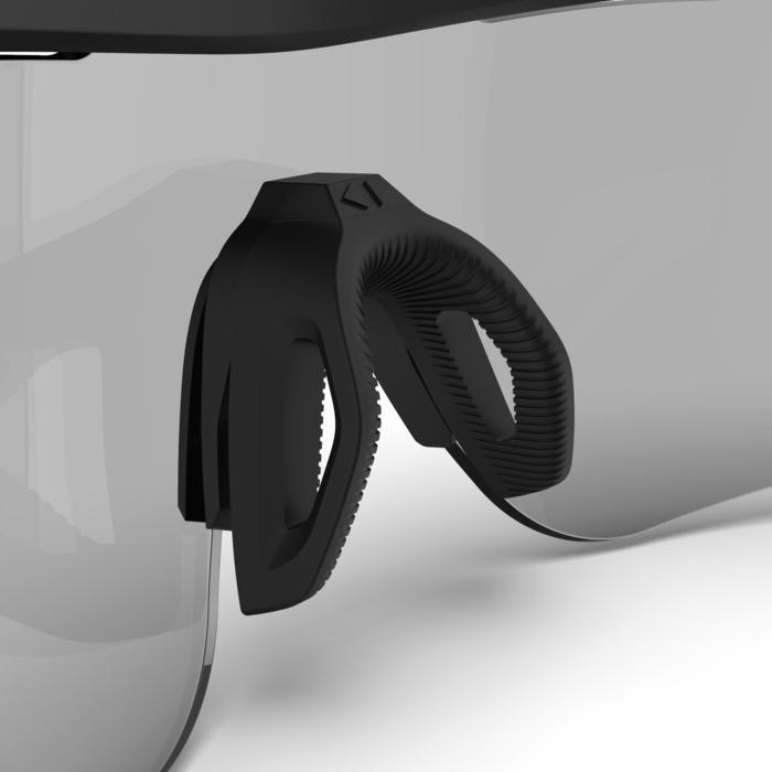 成人款變色鏡片跑步太陽眼鏡TRSG 9601-3-黑色配古銅色