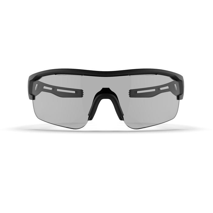 Hardloopbril voor volwassenen TRSG 960 fotochromatisch cat. 1-3 zwart/brons