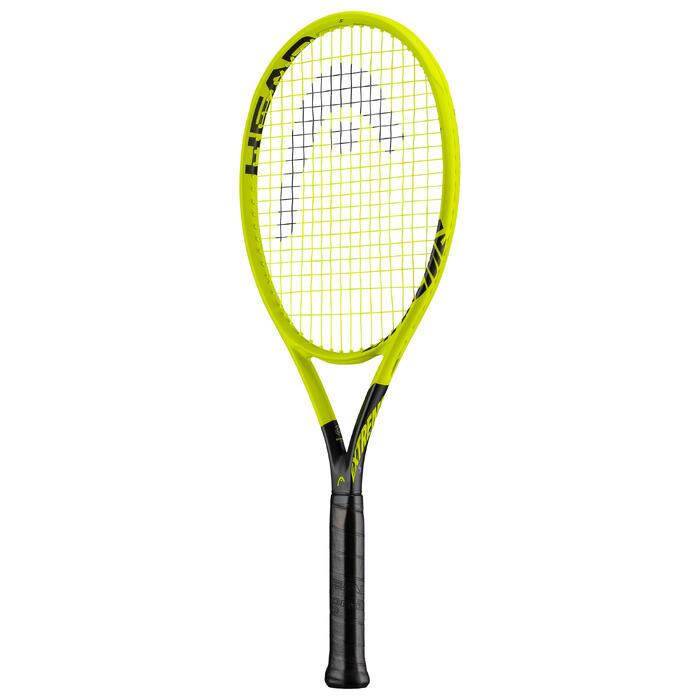 Tennisracket voor volwassenen Extrem S fluogeel