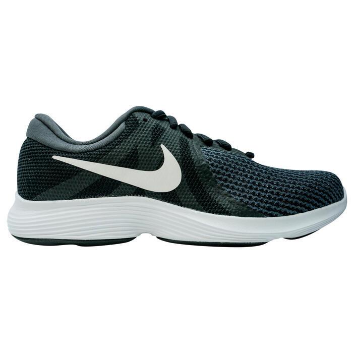 Zapatillas marcha deportiva para mujer Revolution 4, color negro / blanco