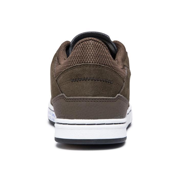 Skateschuhe Sneaker Crush 500 Cupsole Erwachsene khaki