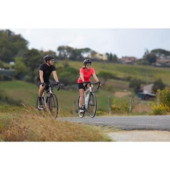 Radhose Kurz Rennrad Essential Herren schwarz