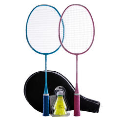 KID BADMINTON RACKET SET STARTER
