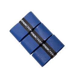 Lot de 3rubans de recouvrement supérieur badminton - Bleu
