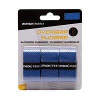 BADMINTON SUPERIOR OVERGRIP X 3 BLUE