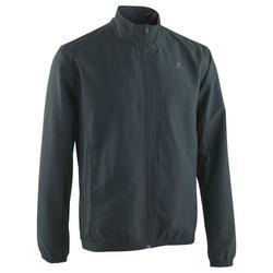 Men's Basic Fitness Tracksuit Jacket - Grey