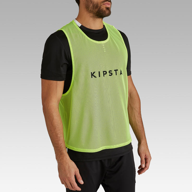 Adult Training Bib - Neon Yellow