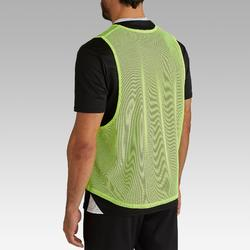 Chasuble adulte jaune fluo