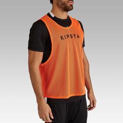 Bib Olahraga Dewasa - Oranye Neon