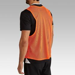 成人款訓練背心-螢光橘